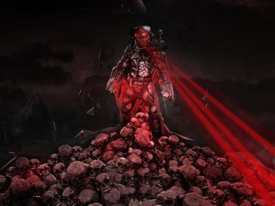 Predator promo poster