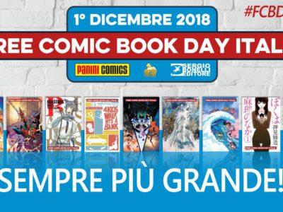 Free Comic Book Day Italia 2018