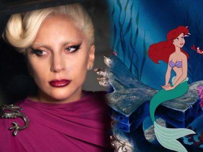 La Principessa Sirena Lady Gaga