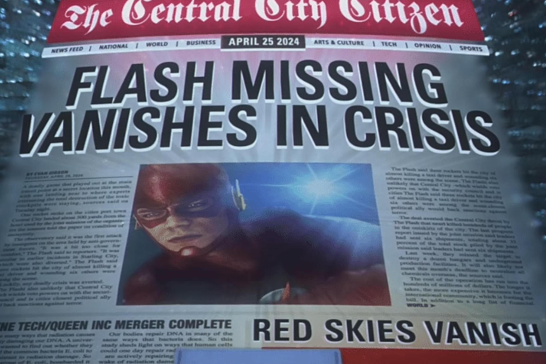 Vanishes in crisis