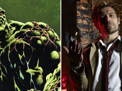 Constantine Matt Ryan Swamp Thing