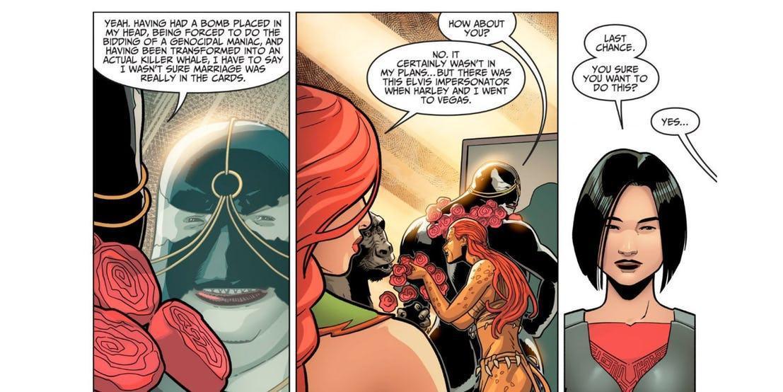 Matrimonio Ivy e Harley