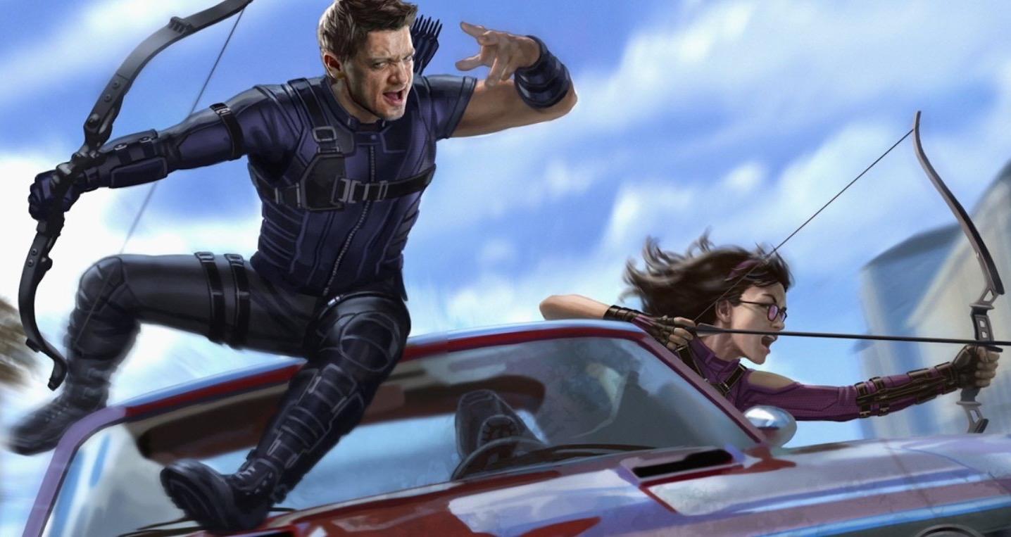 Hawkeye - I primi concept art della serie svelano i look di Kate e Pizza Dog