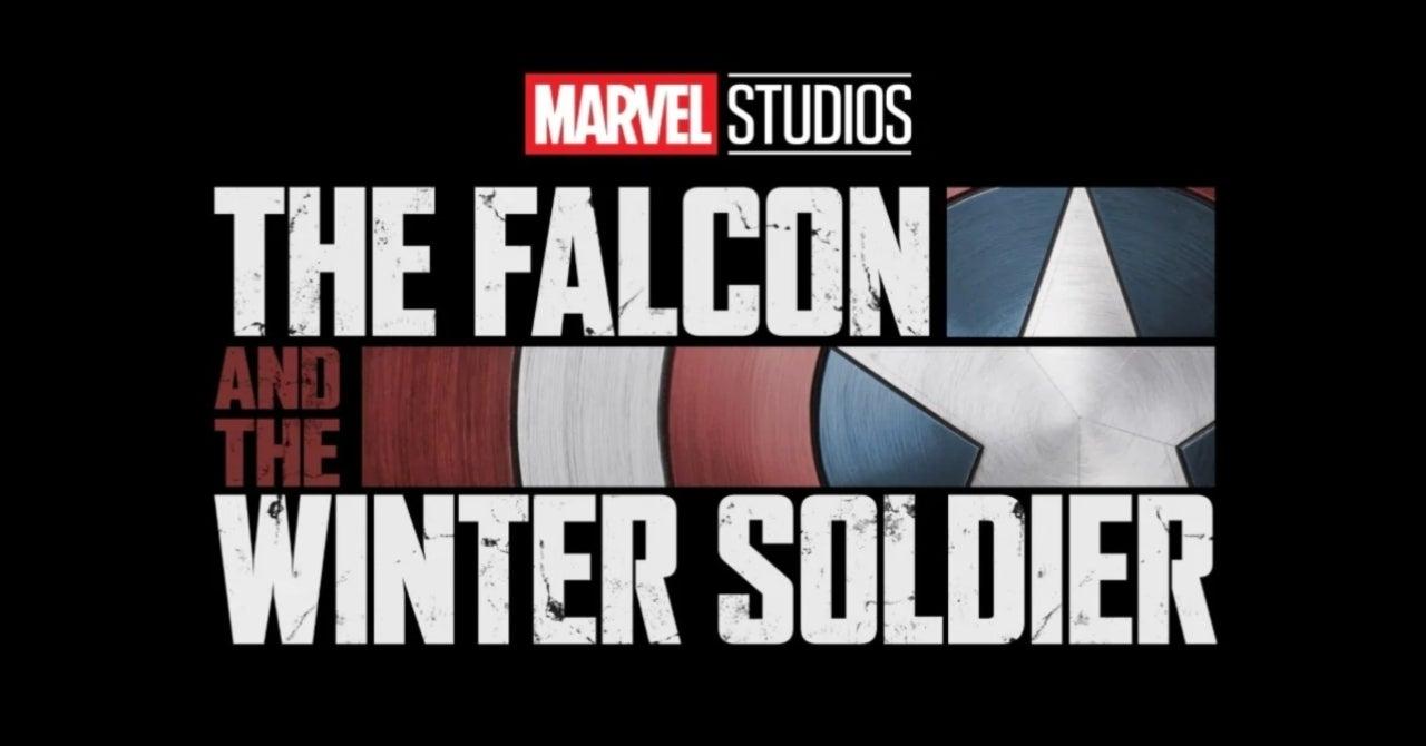 Logo in nero di The falcon and The Winter Soldier